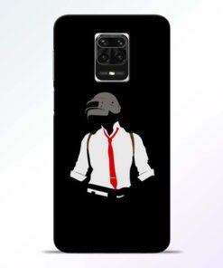 Black Pubg Redmi Note 9 Pro Max Back Cover