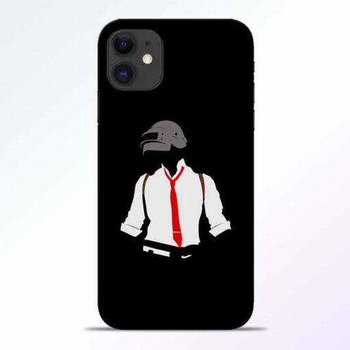 Black Pubg iPhone 11 Back Cover
