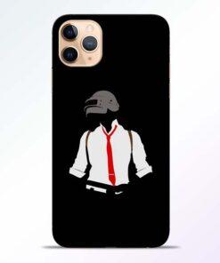 Black Pubg iPhone 11 Pro Back Cover