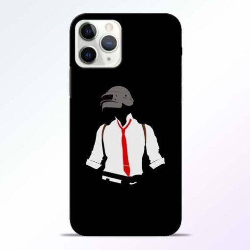 Black Pubg iPhone 11 Pro Max Back Cover