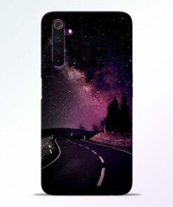 Black Road Realme 6 Back Cover