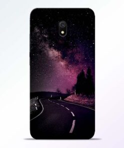Black Road Redmi 8A Back Cover