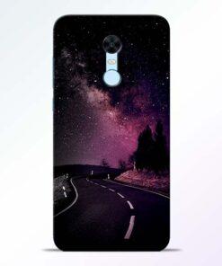 Black Road Redmi Note 5 Back Cover