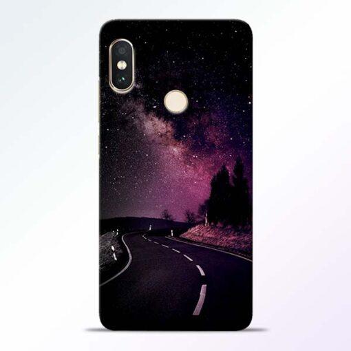 Black Road Redmi Note 5 Pro Back Cover
