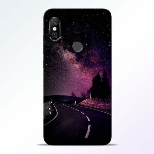 Black Road Redmi Note 6 Pro Back Cover