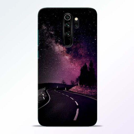 Black Road Redmi Note 8 Pro Back Cover