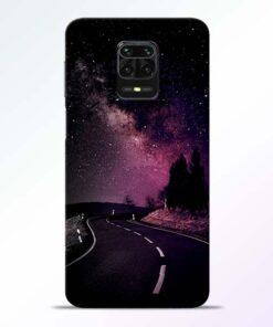 Black Road Redmi Note 9 Pro Back Cover