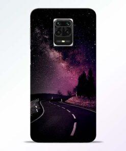 Black Road Redmi Note 9 Pro Max Back Cover