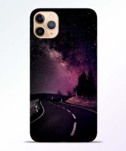 Black Road iPhone 11 Pro Back Cover
