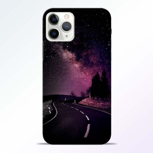 Black Road iPhone 11 Pro Max Back Cover