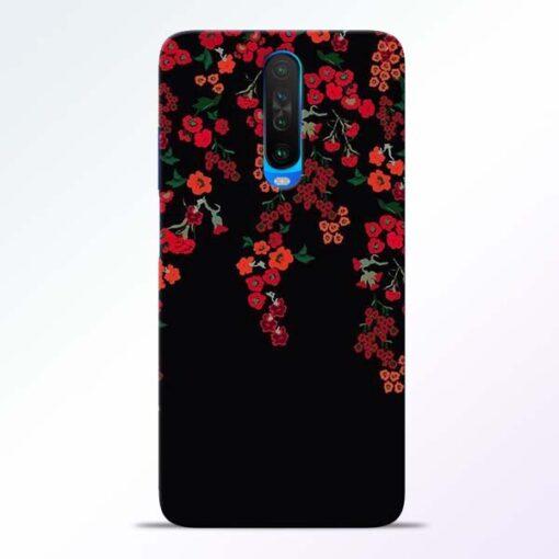 Blossom Pattern Poco X2 Back Cover