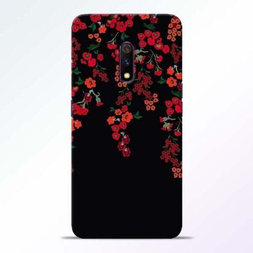 Blossom Pattern Realme X Back Cover