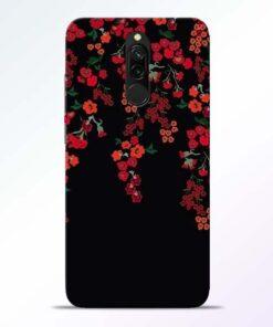 Blossom Pattern Redmi 8 Back Cover