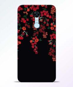 Blossom Pattern Redmi Note 5 Back Cover