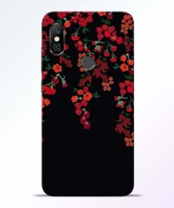 Blossom Pattern Redmi Note 6 Pro Back Cover