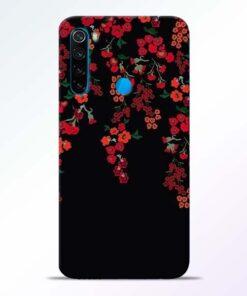 Blossom Pattern Redmi Note 8 Back Cover