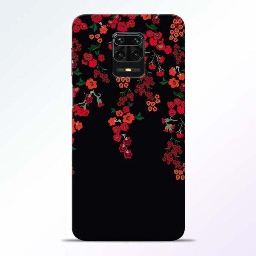 Blossom Pattern Redmi Note 9 Pro Back Cover
