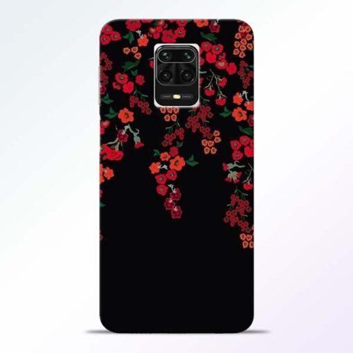 Blossom Pattern Redmi Note 9 Pro Max Back Cover