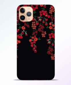 Blossom Pattern iPhone 11 Pro Back Cover