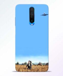 Blue Sky Poco X2 Back Cover