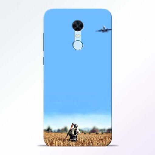 Blue Sky Redmi Note 5 Back Cover