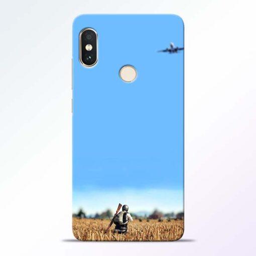 Blue Sky Redmi Note 5 Pro Back Cover