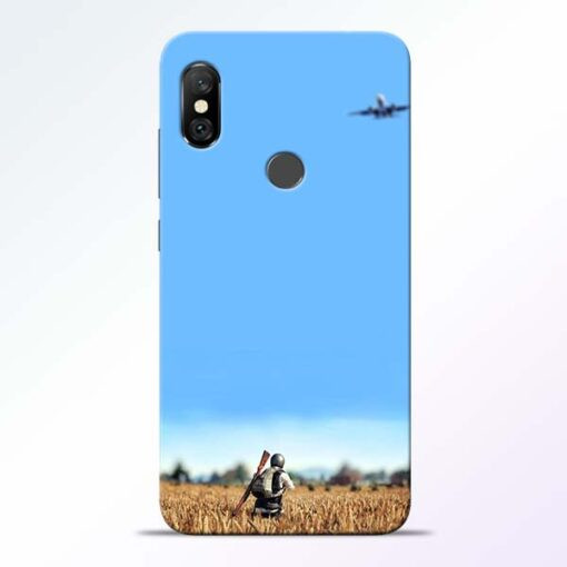 Blue Sky Redmi Note 6 Pro Back Cover
