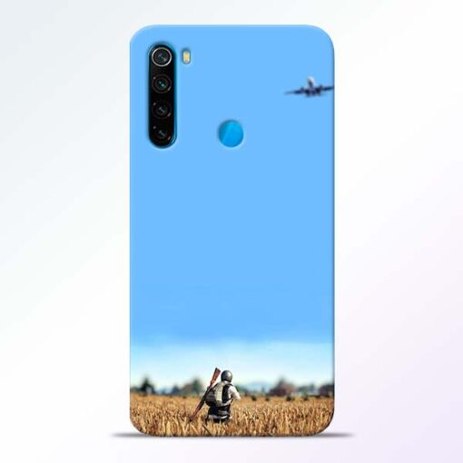Blue Sky Redmi Note 8 Back Cover