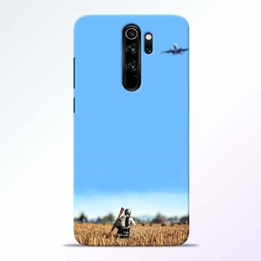Blue Sky Redmi Note 8 Pro Back Cover