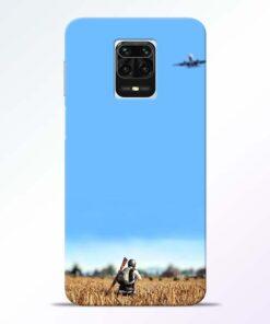 Blue Sky Redmi Note 9 Pro Max Back Cover