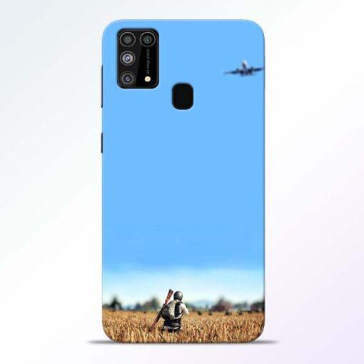 Blue Sky Samsung Galaxy M31 Back Cover