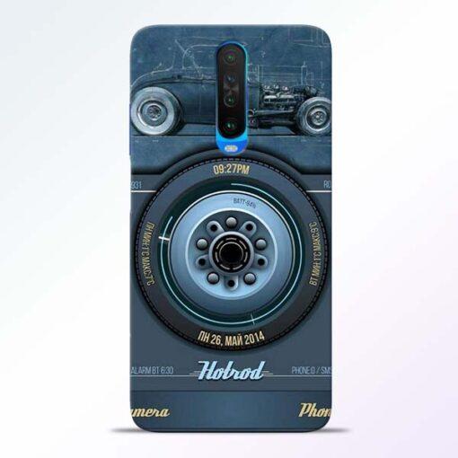 Camera Poco X2 Back Cover