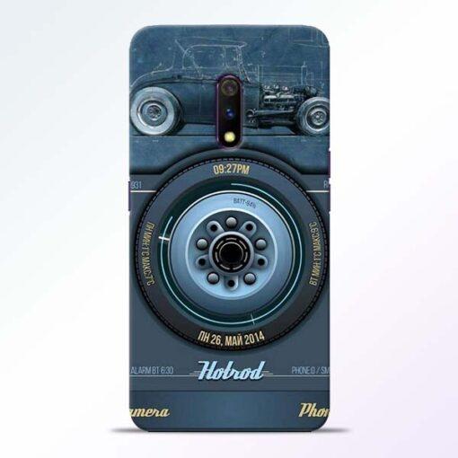 Camera Realme X Back Cover