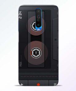 Cassette Poco X2 Back Cover