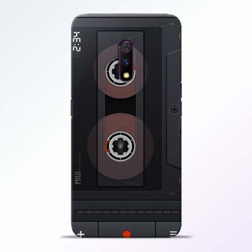 Cassette Realme X Back Cover