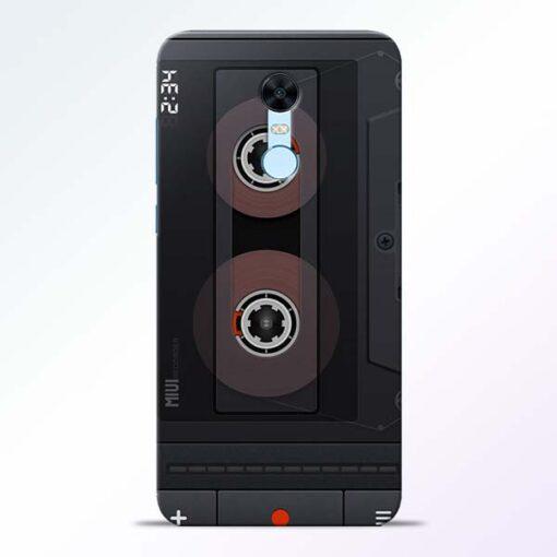 Cassette Redmi Note 5 Back Cover