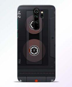 Cassette Redmi Note 8 Pro Back Cover