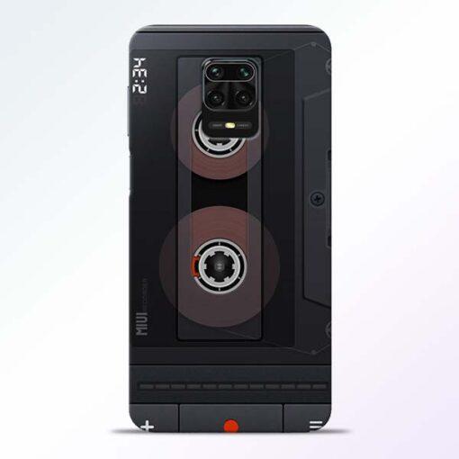 Cassette Redmi Note 9 Pro Back Cover