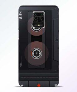 Cassette Redmi Note 9 Pro Max Back Cover