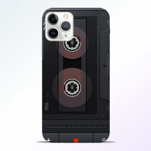 Cassette iPhone 11 Pro Max Back Cover