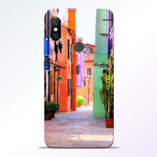 Cool Place Redmi Note 6 Pro Back Cover