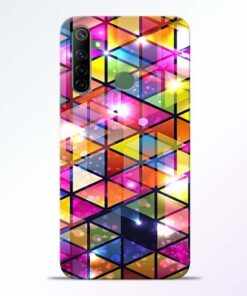 Crystal Realme 6i Back Cover