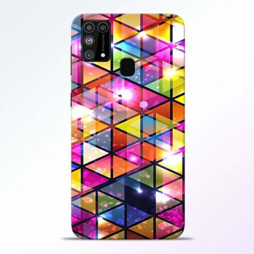 Crystal Samsung Galaxy M31 Back Cover