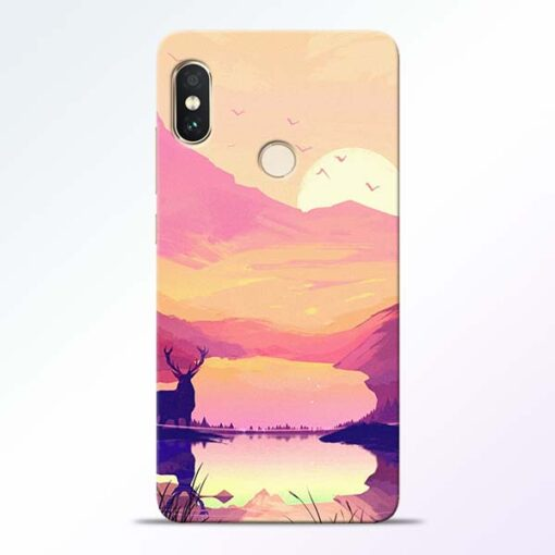 Deer Nature Redmi Note 5 Pro Back Cover