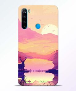Deer Nature Redmi Note 8 Back Cover