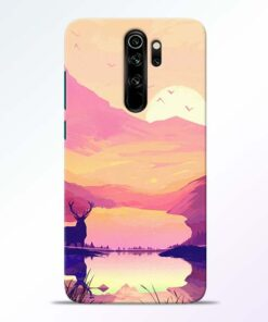 Deer Nature Redmi Note 8 Pro Back Cover