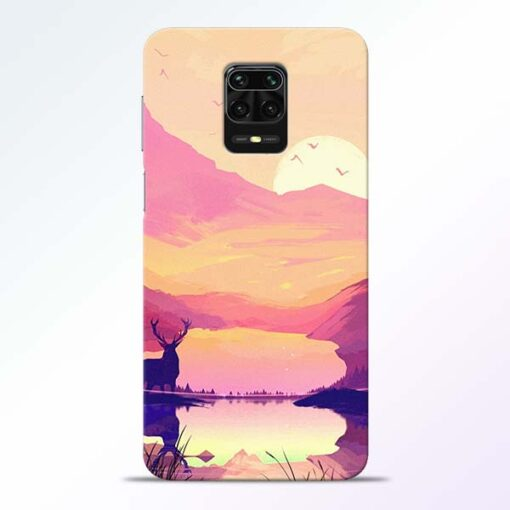Deer Nature Redmi Note 9 Pro Back Cover