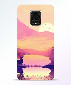 Deer Nature Redmi Note 9 Pro Max Back Cover