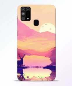 Deer Nature Samsung Galaxy M31 Back Cover