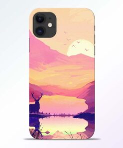 Deer Nature iPhone 11 Back Cover